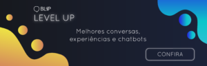 banner blip chatbot com inteligência artificial
