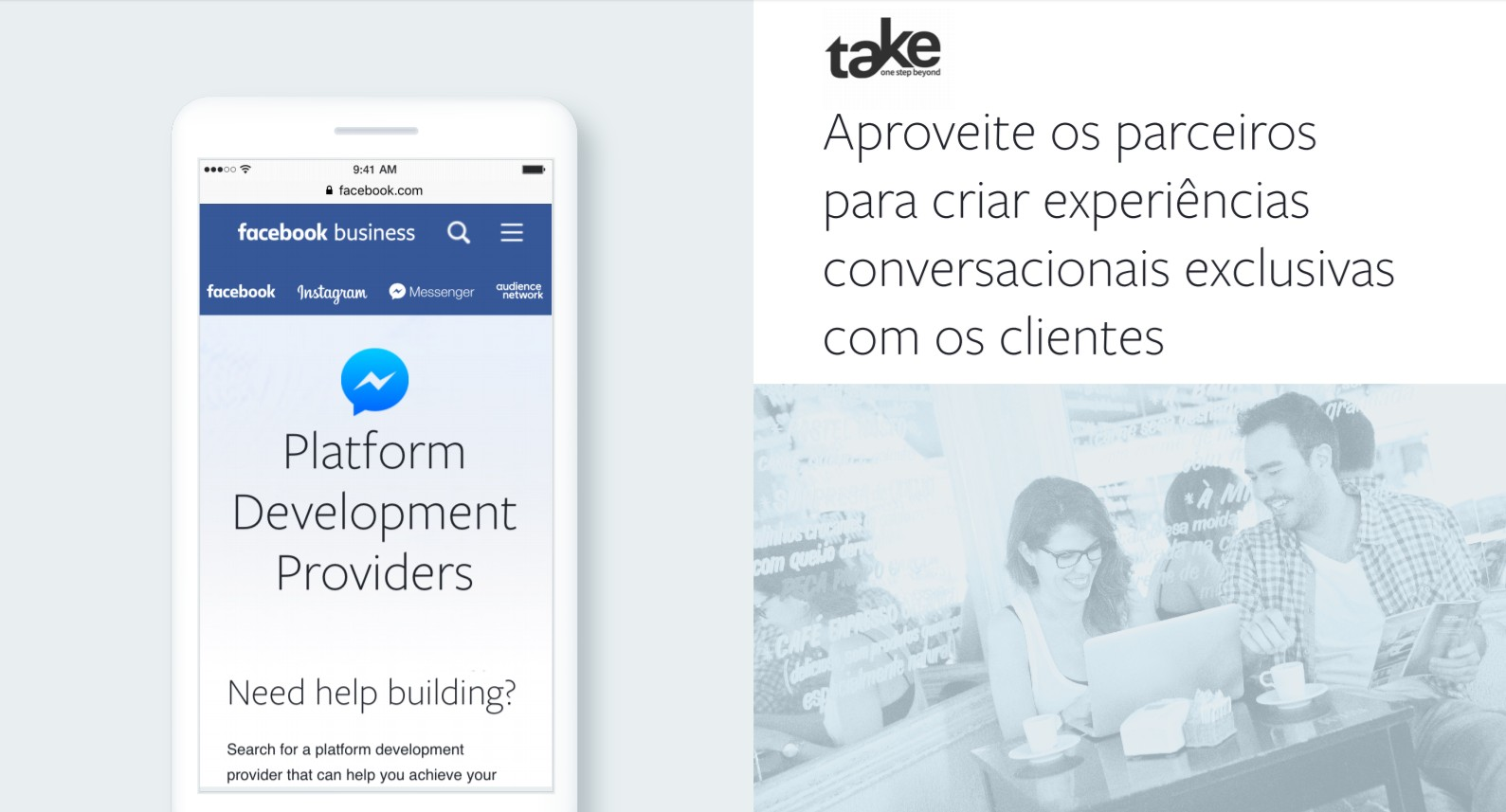 messenger e take post bots4u