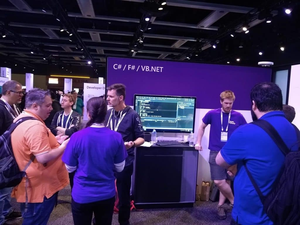 microsoft build 2019 stand