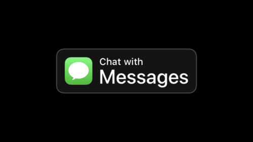 apple business chat messages